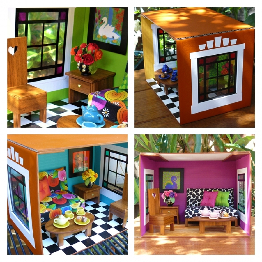 a doll house analyzation